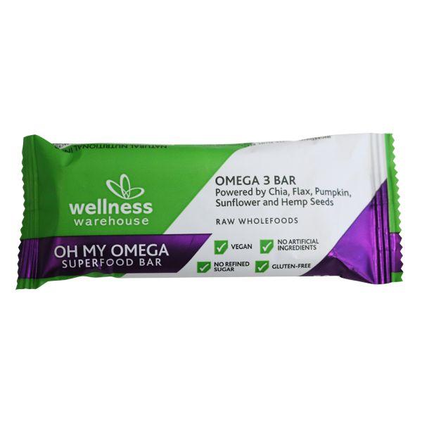 Wellness Oh My Omega Superfood Bar 50g