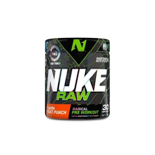 Nuke Raw - Fusion Fruit Punch 280g