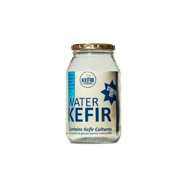 Water Kefir Starter Kit Glass Bottle