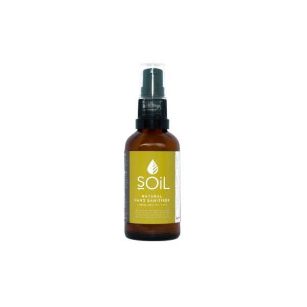 Soil Hand Sanitiser Lemon and Tea Tree 50ml 70% Alcohol