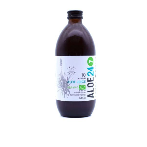 Aloe 24/7 Organic Aloe Juice 500ml