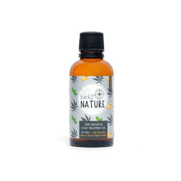 B2N - CBD Hair Growth & Scalp Treatment Oil 50ml