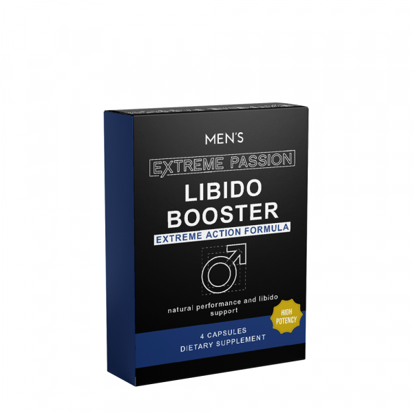 Biobasics Mens Extreme Passion Libido Boosters 4s