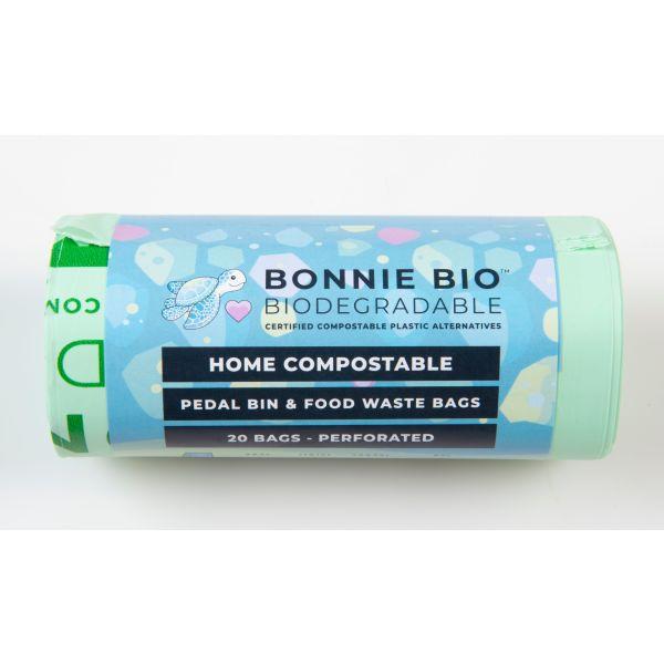 Bonnie Bio Home Compostable Pedal Bin Bags 11-12L 20s
