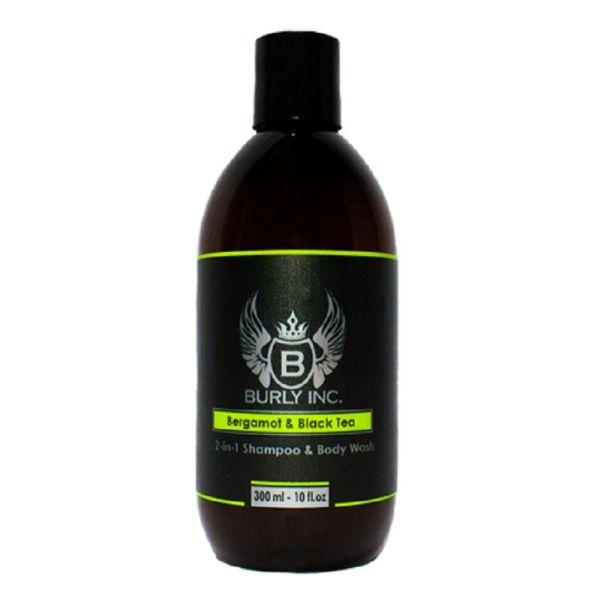 Burly Inc Shampoo 2-in-1 Body Wash 300ml