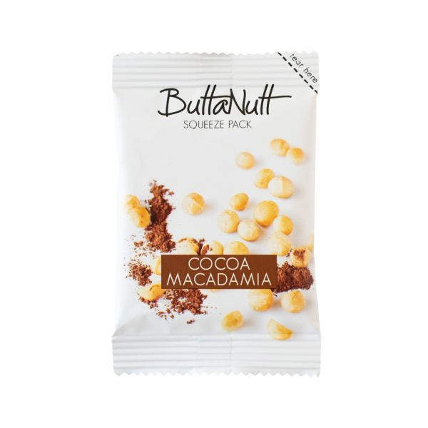 Buttanut Nut Butter Squeeze Pack Cocoa Macadamia 32g