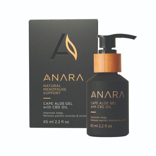 Anara Cape Aloe Gel with CBD Oil 65ml