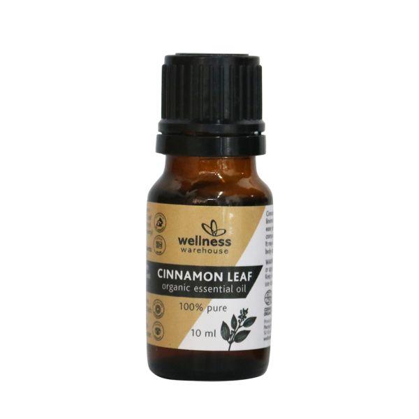 Wellness Organic Essential Oil Cinnamon Leaf 10ml