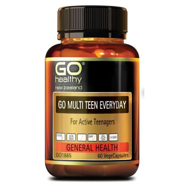 Go Healthy Go Multi Teen Everyday 60s