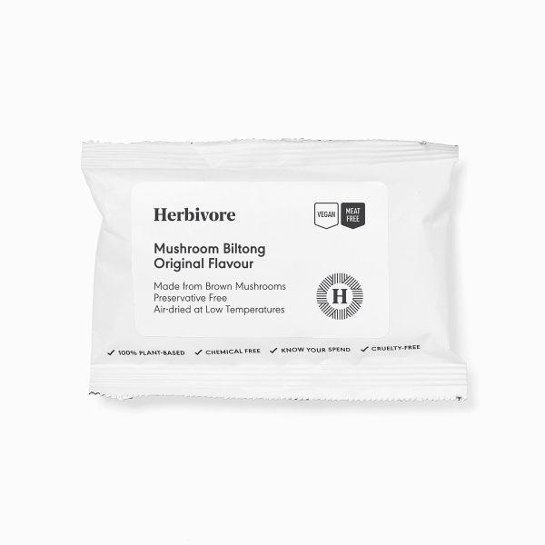 Herbivore Mushroom Biltong Original 20g