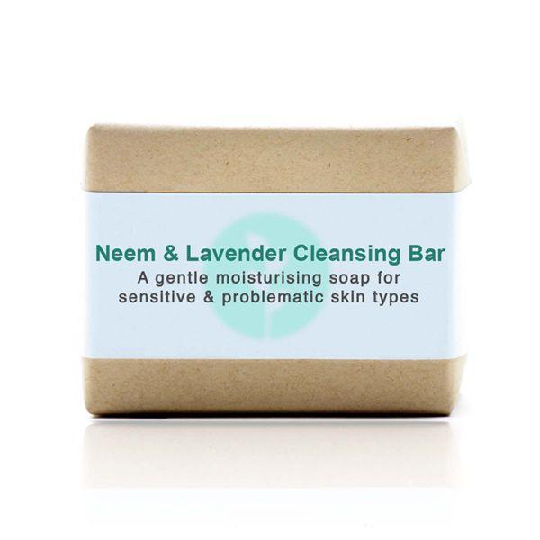 Kalyan - Cleansing Bar Neem & Lavender 100g