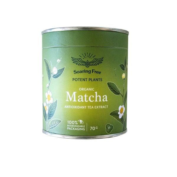 Soaring Free Matcha Powder Organic 70g