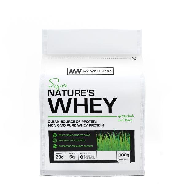 My Wellness Natures Whey Real Matcha 900g