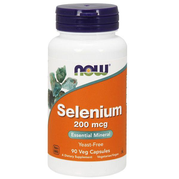 NOW Selenium 200mcg 90s