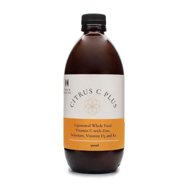Oshun Health Citrus C Plus Liposomal Wholefood containing Vitamin C and Zinc