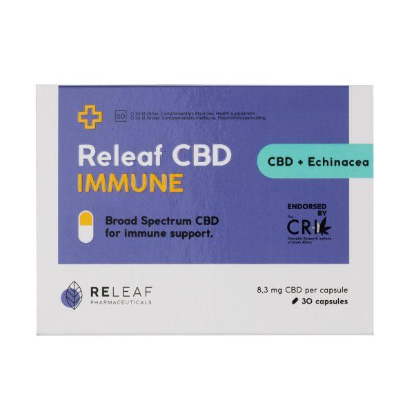 Releaf CBD Immune Capsules 250mg 30s