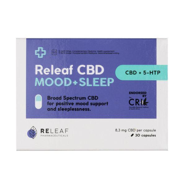 Releaf CBD Mood & Sleep Caps 30s