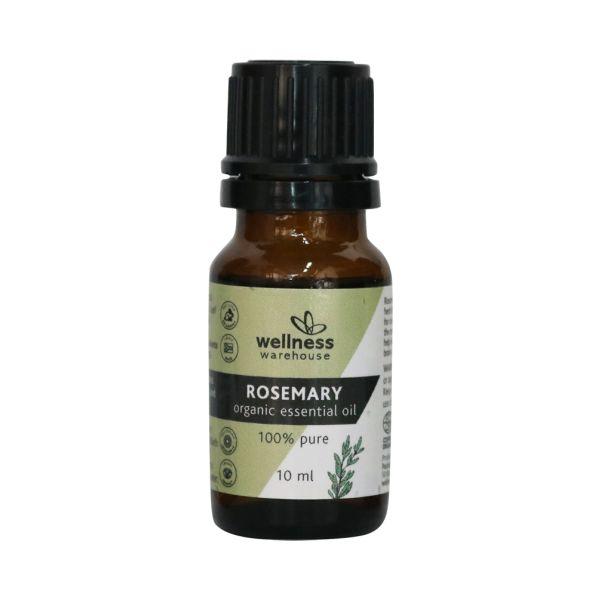 Wellness Organic Essential Oil Rosemary 10ml