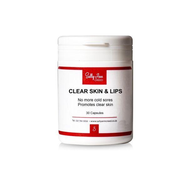 Sally-Ann Creed Clear Skin & Lips Capsules 30s