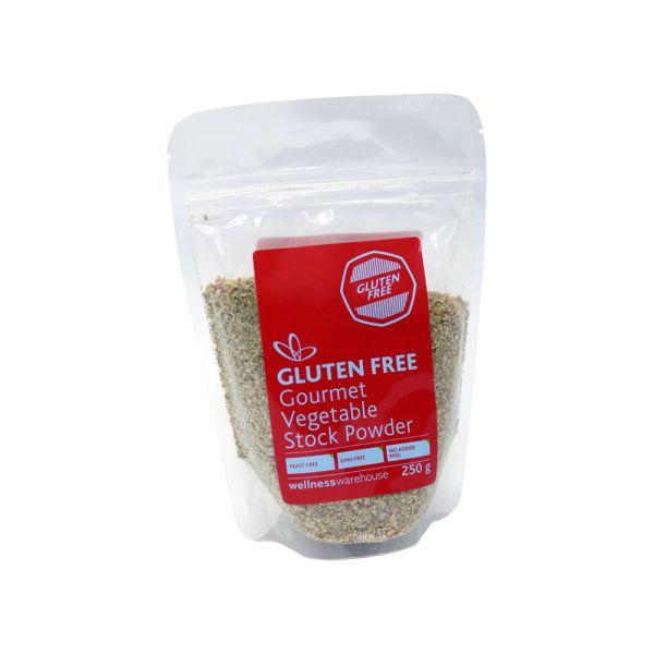 Wellness Gourmet Vegetable Stock Powder Gluten Free 250g