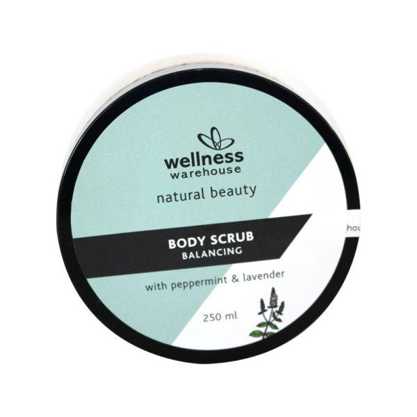 Wellness Body Scrub Balancing Peppermint & Lavender 250ml