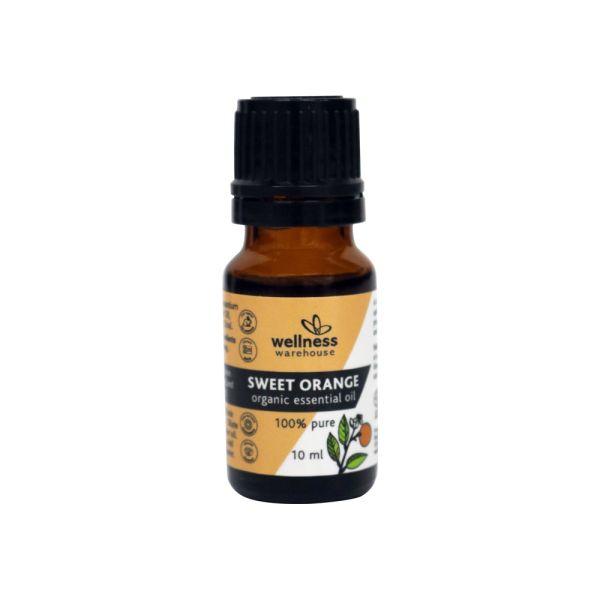 Wellness - Org Essential Oil Sweet Orange 10ml