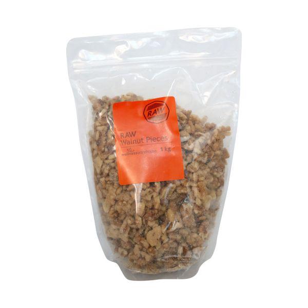 Wellness Walnuts Raw Pieces 1kg